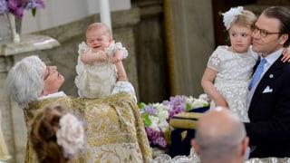 Oscars Taufe: Grosser Auftritt für den kleinen Schweden-Prinzen