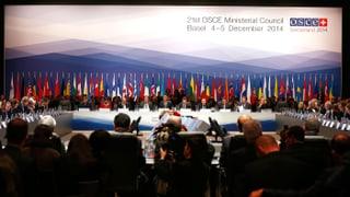 Offene Kritik an Russland am OSZE-Treffen