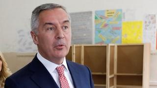 Milo Djukanovic gewinnt Präsidentenwahl