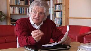 Hanspeter Guggenbühl, ein ausgezeichneter Fachjournalist und Publizist.