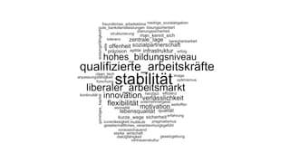 Wirtschaftselite sieht Stabilität als entscheidenden Vorteil