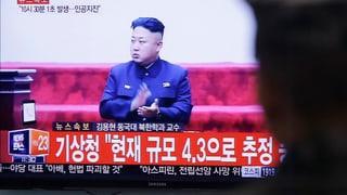 Nordkorea will Wasserstoffbombe getestet haben