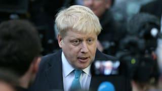 Londons Bürgermeister Johnson wechselt zu «Brexit»