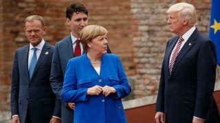 Selbst die tiefen Erwartungen an den G7-Gipfel wurden enttäuscht.