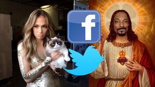Promi-Tweets der Woche: Bekiffter Jesus und schmollende Diva