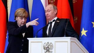 Merkel in Moskau: Ein Besuch mit scharfen Worten