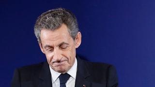 Nicolas Sarkozy passenta notg en arrest