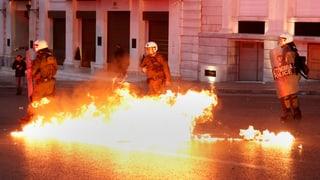 Gewaltsamer Widerstand gegen Rentenkürzungen in Athen