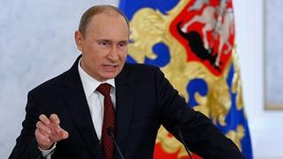 Putin ist bereit zum Dialog – mit Bedingungen