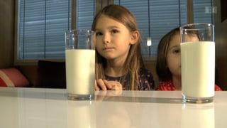 Die richtige Menge Milch macht's