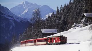 Dapli svieuta, damain gudogn per Matterhorn Gotthard Bahn