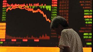 Neuer Kurssturz an Chinas Börsen