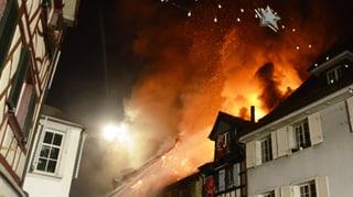 Brand in Steckborn unter Kontrolle