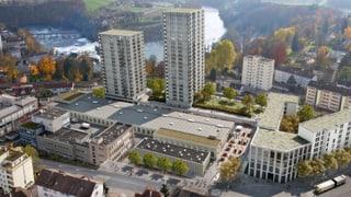 Die Hochhäuser über dem Rheinfall dürfen gebaut werden