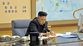 Nordkorea reaktiviert heissen Draht zum Nachbarn