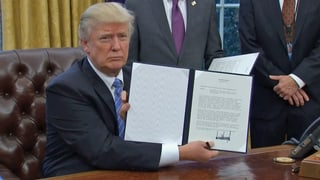 USA ziehen sich aus dem Trans-Pazifischen Handelsabkommen zurück