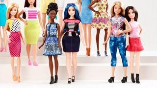 Auch Miss Barbie hat zugenommen