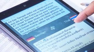 Übersetzungsapps im Test: Schlechte Noten für viele (Artikel enthält Video)