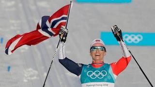 Björgen macht sich zur erfolgreichsten Winterolympionikin