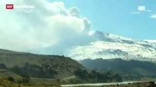 Alarmstufe Rot wegen Vulkan in Chile