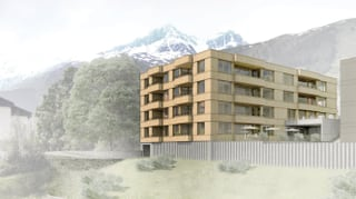 Project «star bein» per residenza da seniors a Sedrun