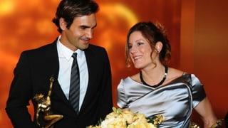 Roger Federer und Nicola Spirig sind Sportler des Jahres 2012