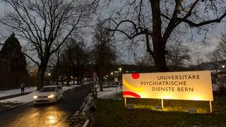 Berner Kantonsparlament verlangt Wechsel an der UPD-Spitze