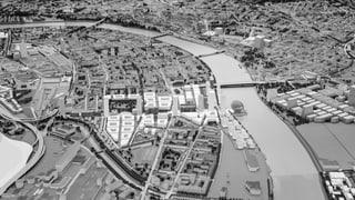 Aus Industriequartier soll ein komplett neuer Stadtteil entstehen