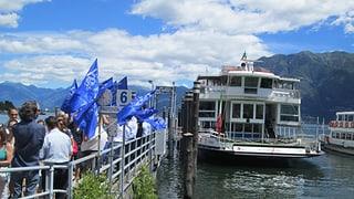 Stillstand auf dem Lago Maggiore: Lesen Sie hier, wie Einheimische, Gäste und Tourismusverantwortliche auf den Streik reagieren.