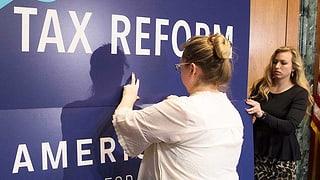«Bei der US-Steuerreform geht es um die Wurst»