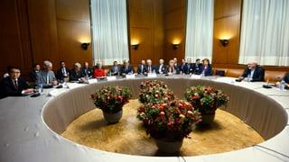 Optimismus an Genfer Atomverhandlungen