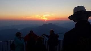 Sonnenaufgang auf der Rigi: «Einfach kitschig schön»