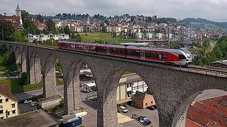 Die Südostbahn möchte autonom fahrende Züge testen. Der Bund verlangt aber eine gemeinsame Lösung der Eisenbahnbranche.