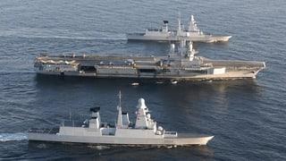 Kampf gegen IS: Frankreich setzt Flugzeugträger ein