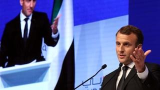 Macron reist nicht ohne Hintergedanken nach Riad