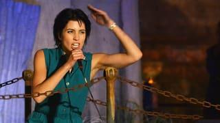 «Pussy Riot»-Aktivistin Nadja Tolokonnikowa in Zürich