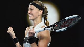 Kvitova stoppt den Lauf der überraschenden Collins (Artikel enthält Video)