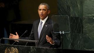 Obama: «Assad schlachtet eigenes Volk ab»