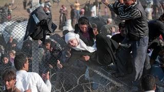 Massiv mehr Menschen aus Nord-Syrien auf der Flucht