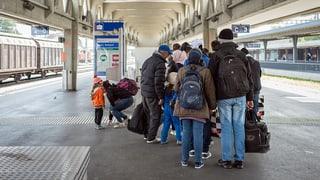 Deutlich mehr Asylgesuche im September