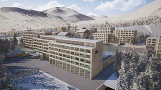 Mustér: Plirs recurs encunter il project Hotel Acla da Fontauna