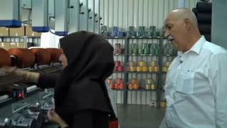 Video «Iran: Schweizer Textilmaschinen-Industrie träumt» abspielen