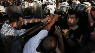 Erneute Auseinandersetzungen am Taksim-Platz