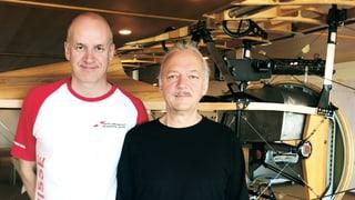 Zwei Freunde wollen fliegen wie Oskar Bider