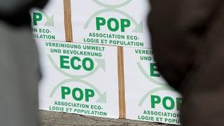 Grüne marschieren gegen Ecopop auf