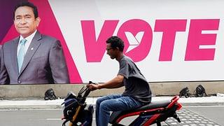 Präsident Yameen wird wohl wiedergewählt – und weiterhin so regieren, als ob ihm das Inselparadies gehören würde.