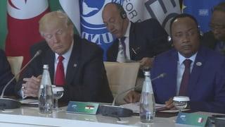 Trump sorgt erneut für Stirnrunzeln