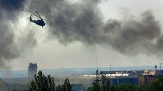 Kiew nimmt Donezker Flughafen wieder ein
