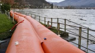 Ausführlicher Überblick zur Lage an Rhein und Aare