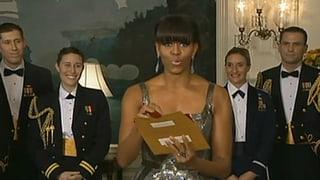 Überraschung: Michelle Obama verkündet Oscar-Gewinner
